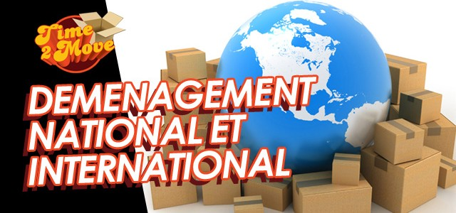 Déménagement internationnal